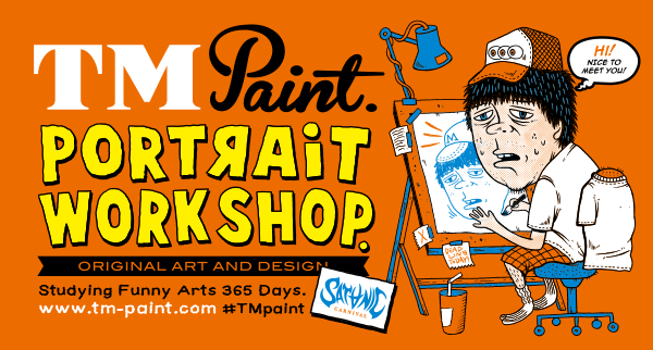 TM PAINT PORTRAIT WORK SHOP