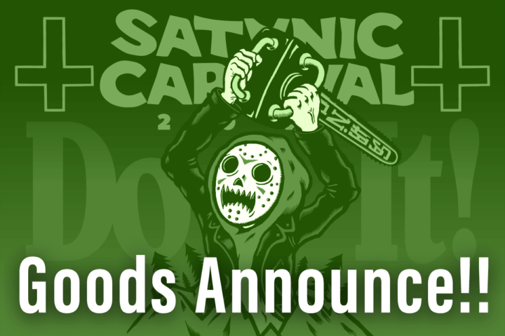 SATANIC CARNIVAL 2021 OFFICIAL GOODS事前通販開始!